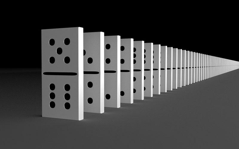 peças de dominó