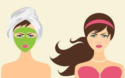 desenho de máscara facial